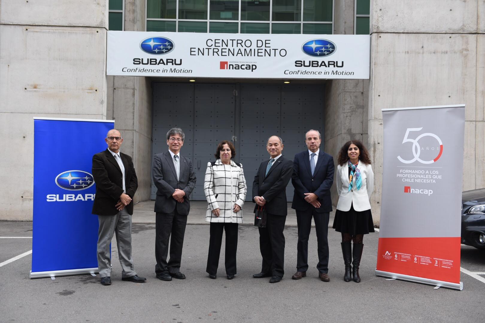 SUBARU CHILE, NOMBRADO POR FHI, CENTRO DE FORMACIÓN DE INSTRUCTORES CERTIFICADOS