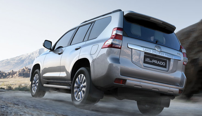 Toyota New Land Cruiser Prado 5D